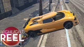 Download Highlight Reel #424 - GTA Car Has Great Air Brakes Video