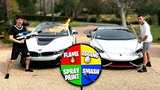 Download If you lose, you HAVE to spin the MYSTERY WHEEL.. (Super Car DESTROYED) Video