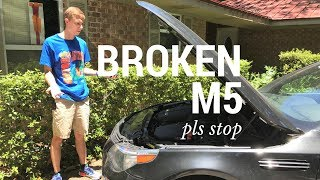 Download My BMW M5 Broke...8 HOURS FROM HOME Video
