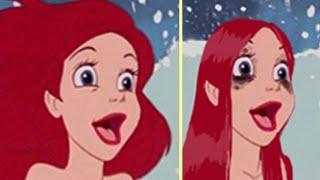 Download If Disney Princesses Wore Realistic Makeup Video
