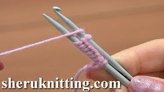 Download Cast On With a Knitting Needle and a Crochet Hook Tutorial 1 Method 13 of 18 Casting On In Knitting Video
