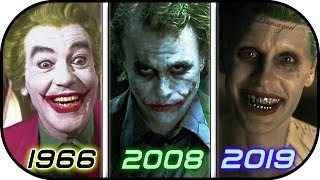 Download EVOLUTION of JOKER in Movies TV (1966-2019) History of The Joker 2019 / Suicide Squad 2 2019 trailer Video