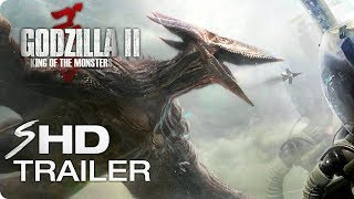 Download GODZILLA 2: King of the Monsters (2019) Trailer Concept - MonsterVerse Movie HD Video
