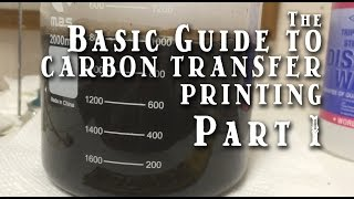 Download The Basic Guide to Carbon Transfer Printing - Part 1 Video