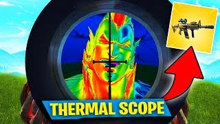 Download IN SEARCH OF THE THERMAL SCOPE AR!! Fortnite: Battle Royale Video