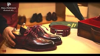 Download Paul Parkman Handmade Shoes for Men - How to Make Goodyear Welted Shoes Video