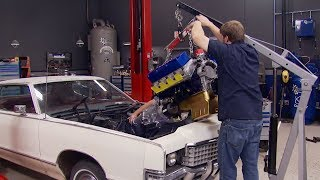 Download Putting A 1,100 HP Big Block Into A '72 Mercury Marquis - Detroit Muscle S3, E8 Video