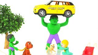 Download HULK SAVES THE BABY KITTEN ❤ Hulk & Frozen Elsa Play Doh Cartoons For Kids Video