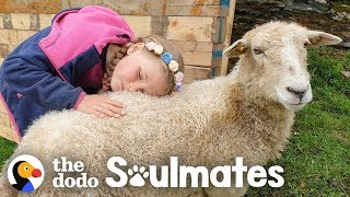 Download Girl And Her Sheep Have The Most Perfect Friendship | The Dodo Video