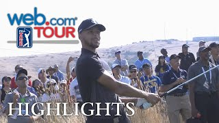 Download Stephen Curry's Round 1 highlights from from Ellie Mae Video
