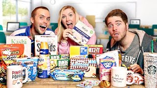 Download TRYING CRAZY BACK TO SCHOOL SNACKS Video