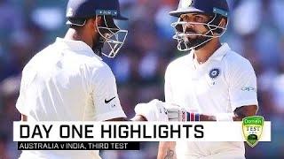 Download Advantage India after tough opening day | Third Domain Test Video
