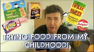 Download TRYING FOOD FROM MY CHILDHOOD! Video