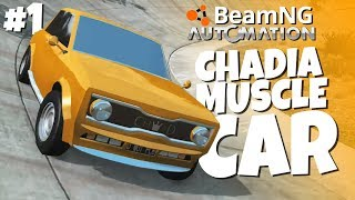 Download My First Car - Chadia Muscle - BeamNG / Automation Video