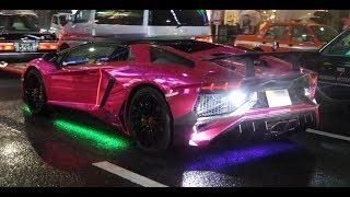 Download 【ハロウィン】都内でランボルギーニがパレードラン Many Lamborghinis Halloween Parade in Tokyo. Video