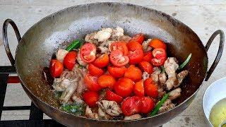 Download Chicken Karahi Recipe - Pakistan Karachi Street Food - Restaurant style Chicken karahi Video