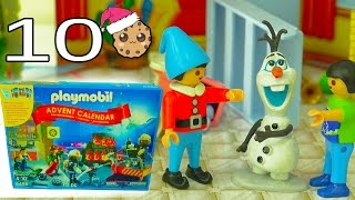 Download Who Did It? - Playmobil Holiday Christmas Advent Calendar - Toy Surprise Blind Bags Day 10 Video
