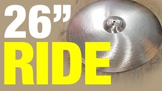 Download 26″ Paiste Stambul Ride Cymbal - polished and repaired Video