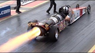Download FireForce 5 Jet Car at Santa Pod Raceway - 1/4 Mile 5.07 @ 298mph Video