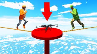 Download FIRST One To Reach The END WINS! (GTA 5 Funny Moments) Video