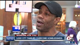 Download Progress being made in reducing homelessness problem in Indianapolis Video