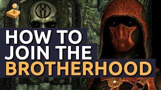 Download Skyrim Walkthrough - How to Join the Dark Brotherhood Video