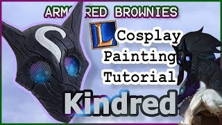 Download Kindred Mask Painting, Lamb! - League of Legends Cosplay Tutorial Video