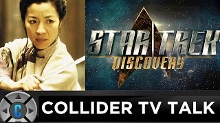 Download Michelle Yeoh Joins Star Trek Discovery, Gilmore Girls Netflix Review - Collider TV Talk Video