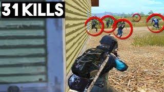 Download TWO SQUADS PUSHED ME!   31 KILLS Solo vs Squad   PUBG Mobile Video