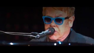 Download Ed Sheeran and Elton John - Don't go breaking my heart (Live At Wembley Stadium 2015) Video
