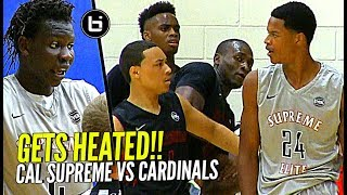 Download GETS HEATED! Shareef O'Neal & Bol Bol vs Cole Anthony at Nike Peach Jam! Cal Supreme vs PSA Video