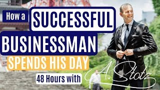 Download How a Successful Businessman Spends His Day Video