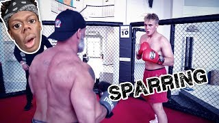 Download MY FIRST TRAINING SESSION FOR THE KSI FIGHT!! Video
