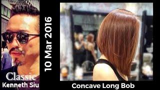 Download Kenneth Siu's Haircut - Concave Long Bob Video