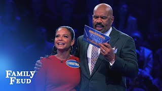 Download Christina Milian's Fast Money! | Celebrity Family Feud Video