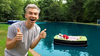 Download GRACE SHARER WAKES UP IN BACKYARD POND PRANK!! Video
