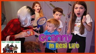Download Granny Game In Real Life / That YouTub3 Family Video