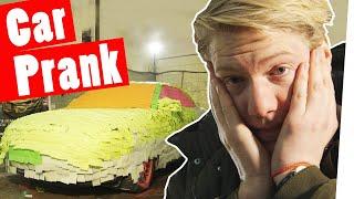 """Download Bestrafung: Der Post-it Car PRANK    """"Das schaffst du nie!"""" Video"""