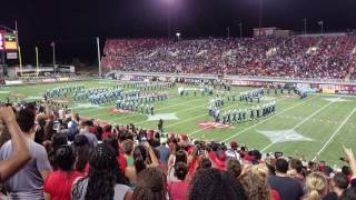 Download Jackson State University Marching Band performs at UNLV Vs JSU Football game Video