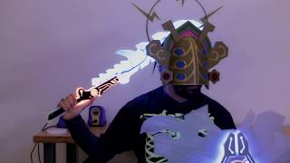 Download Thunder Helm // Zelda Breath of the Wild Cosplay Video