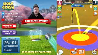 Download Golf Clash tips, Playthrough, Hole 1-9 - PRO - TOURNAMENT WIND! Festive Cup Tournament! Video