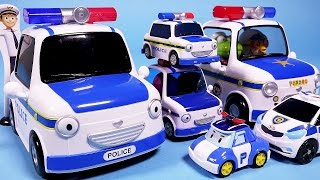 Download 타요 패트 경찰차 또봇C 놀이 Tayo Police Cars, Poli, Tobot toys Video