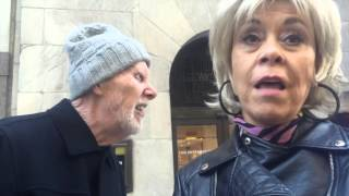 Download Protest Triggers Customers to Exit Fur Store Video