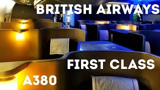 Download BRITISH AIRWAYS FIRST CLASS FLIGHT, A380 - London Heathrow to San Francisco. The trip report! Video