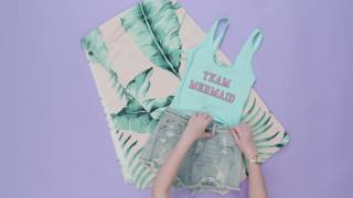 Download 7 Mermaid Inspired Outfit Ideas | Style Lab Video