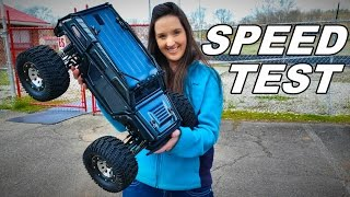 Download How Fast is the Thunder Tiger K-Rock Monster Truck? - TheRcSaylors Video