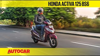 Download Honda Activa 125 BS6 Review | First Ride | Autocar India Video