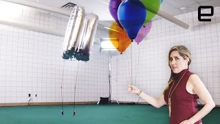 Download ICYMI: The balloon bot that can actually stand upright Video