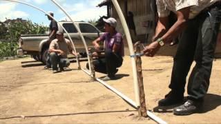 Download Construcción de microtúnel para secar semillas y granos Video