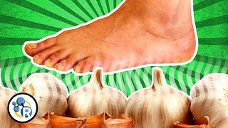 Download Can You Taste Garlic with Your FEET!? Video